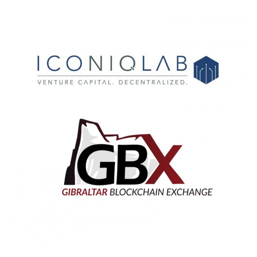 Iconiq Holding Launches Digital Asset Index Funds and Announces Upgrades to the ICNQ Token With Gibraltar Blockchain Exchange Token Sale and Exchange Listing