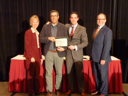 Hamilton Mill's Pipeline H2O Program Wins Ohio Economic Development Association Award