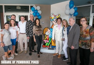 Craig and Martine Zinn, and Subaru of Pembroke Pines Chooses JAFCO as Beneficiary Charity for the 2017-2018 Share the Love Event