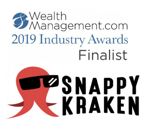 Snappy Kraken Named WealthManagement.com 2019 Industry Awards Finalist