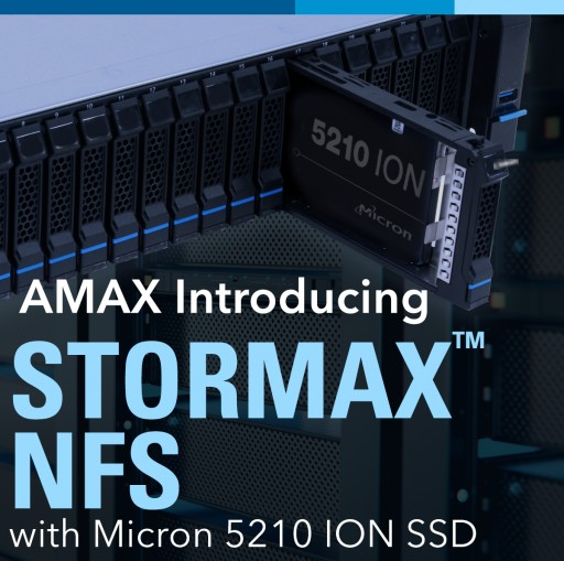 AMAX Launches World's First QLC-Based NFS Storage Solution for Deep Learning