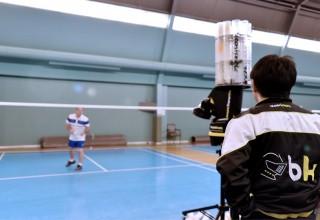 Badminton Coaching Aid