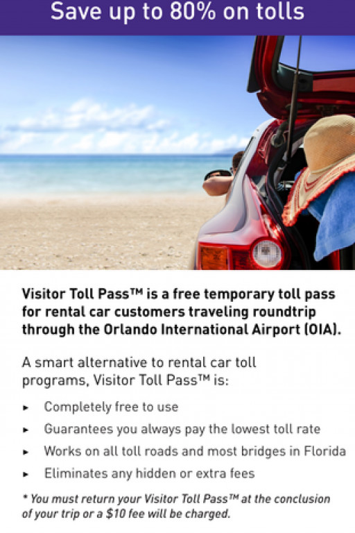 Central Florida Expressway Launches Visitor Toll Pass™ in Time for Summer Travel to Florida