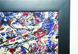 Attributed Jackson Pollock Detail