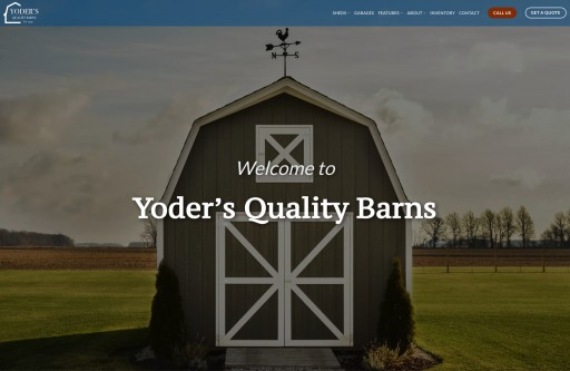 Yoder's Quality Barns LLC Launches New Website