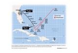 The Course of El Faro and Hurricane Joaquin
