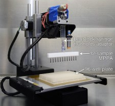 Conversion from a 3D Printer to a sample preparation device