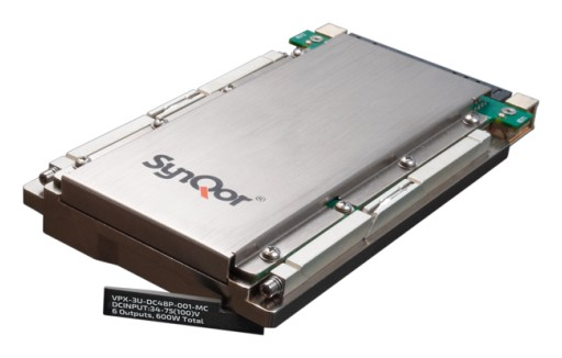 SynQor® Releases an Advanced VPX 3U Power Supply (VPX-3U-DC48P-001)