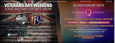 Veterans Day Weekend Joint Military Esports Show at Player Omega