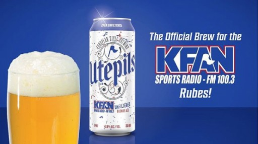 Utepils Brewing Teams Up With iHeartMedia Minneapolis's FM 100.3 KFAN to Launch New Beer