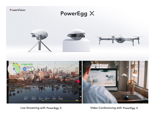 PowerEgg X Drone Recognized With 2021 iF Design Award