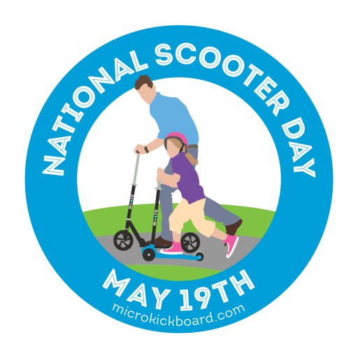 National Scooter Day 50 Scooter Giveaway by Micro Kickboard
