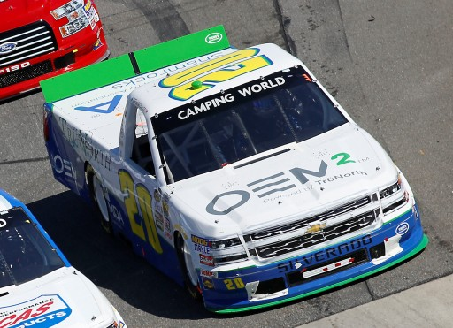 OEM2 Powered by TruNorth™ Hits the Track for the NASCAR Camping World Truck Series M&M'S 200