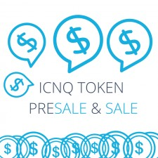 Cover- ICNQ Token Sale and Presale