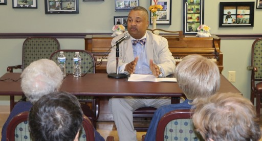 Congressman Donald Payne, Jr. Visits South Orange B'nai B'rith Federation House