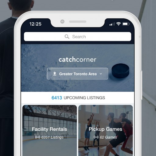 CatchCorner Launches: Toronto-Based App for Booking Sport Facilities and Playing Pickup Games