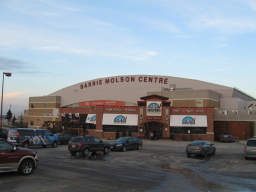 Naming Rights for Sale at City of Barrie's Premier Arena