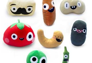 Kickstarter veggie plush dolls rewards
