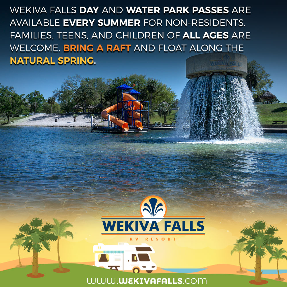Wekiva Falls Launches Rv Resort And Camping Booking Site