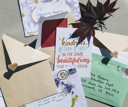 Snowline's Sunshine Letter Program Has One Purpose: To Help Spread Joy and Cheer in the Lives of Patients