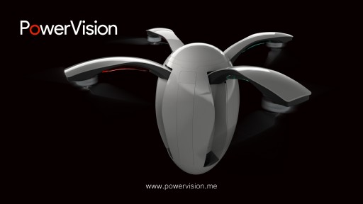 Powervision Robot Unveils Its First Consumer Drone