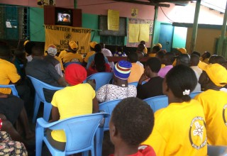 The Volunteer Ministers of Kenya trained hundreds of villagers in the Bududa region