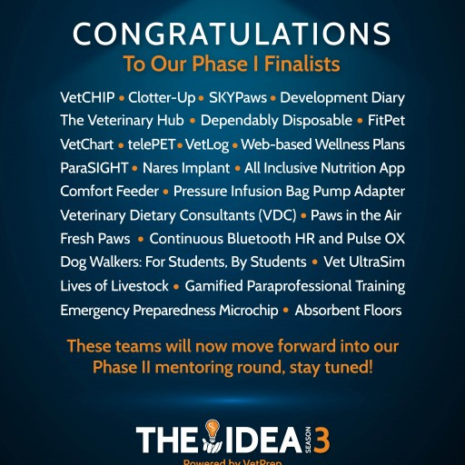 The IDEA by VetPrep Announces 26 Semi-Finalists to Advance to the Mentoring Stage