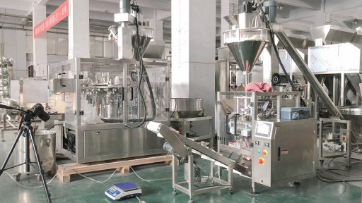 Vtops Exports CE-Approved VFFS Powder Packing Machine to a Major Food Company in Europe