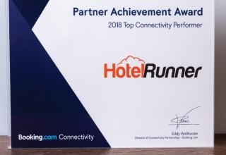 Partner Achievement Award from Booking.com