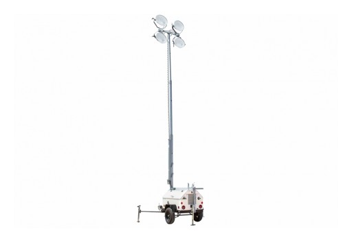 Larson Electronics Releases Metal Halide Light Tower, 4,000 Watts, 6kW Diesel Generator, 23' Tower