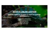 ReSolve Online Advisor