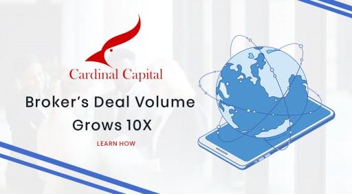 Broker's Deal Volume Grows 10x, Despite Challenges of 2020