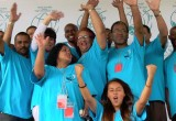 Drug-Free World volunteers