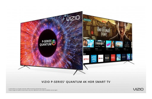 VIZIO Brings Its Best Picture Ever to Canada With 2018 P-Series Quantum 4K HDR Smart TV