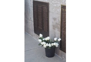 Wall of the Fallen nameplates