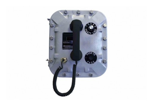 Larson Electronics Releases Explosion-Proof Slave Station/Pager Telephone System, CI/II/III, VoIP