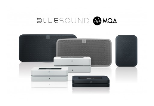 Bluesound Announces MQA Partnership at CES 2016