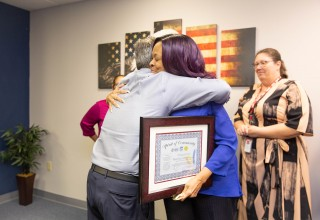 Miami VA Social Worker Marsha Latham Win 2018 Spirit of Community Recognition