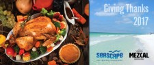Giving Thanks 2017 at Seascape Resort and Mezcal Mexican Grill