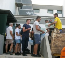 Scientology Volunteer Ministers provide relief in Greece