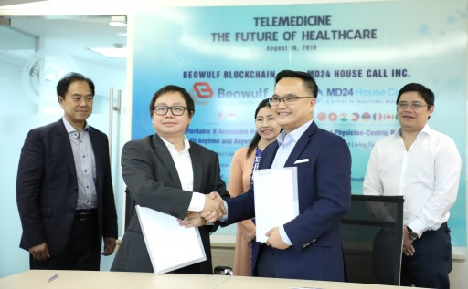 Beowulf Blockchain Helps MD24 House Call Provide a Comprehensive Telehealth System