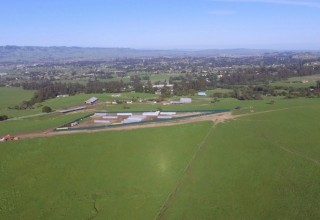 One-Acre Ridge Line Cannabis Cultivation in Sonoma County visible for miles even from Hwy 101