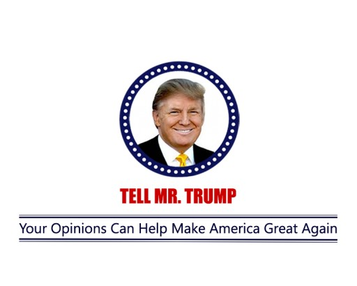 New Website, www.tellmrtrump.com, Lets You Voice Your Opinions and Comments to Donald Trump