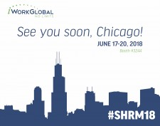 iWorkGlobal Heads to SHRM 2018