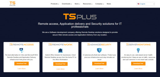 TSplus.net Evolves to Present Its New Range of Remote Access Solutions