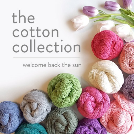 "Twice Sheared Sheep Announces Their New Spring / Summer Recycled Yarn Line ""The Cotton Collection"""