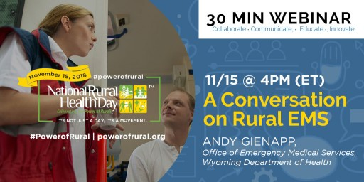Guide to Events and Activities Happening on Nov. 15 - National Rural Health Day