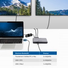 Cable Matters Launches Its First All-In-One Thunderbolt™ 3 and USB-C® Docking Station