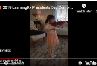 Presidents while playing the violin