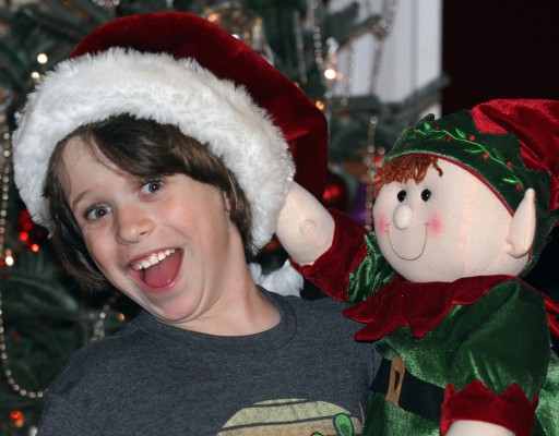 4th Grade Boy Makes Toy Drive Personal
